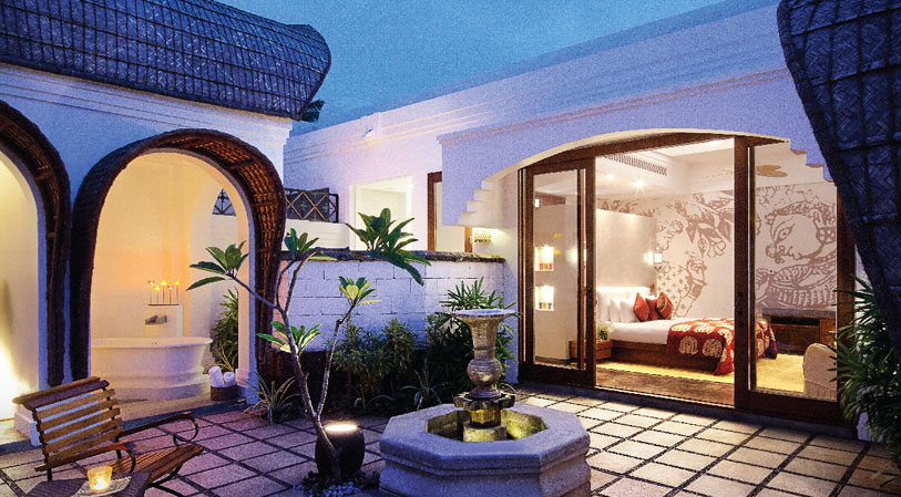 Deluxe Delight Villa With Courtyard