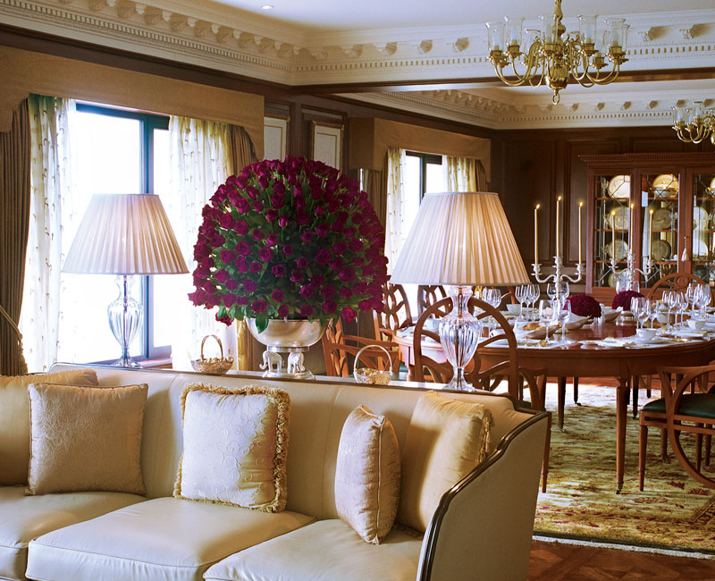 Grand Presidential Suite Dining Area
